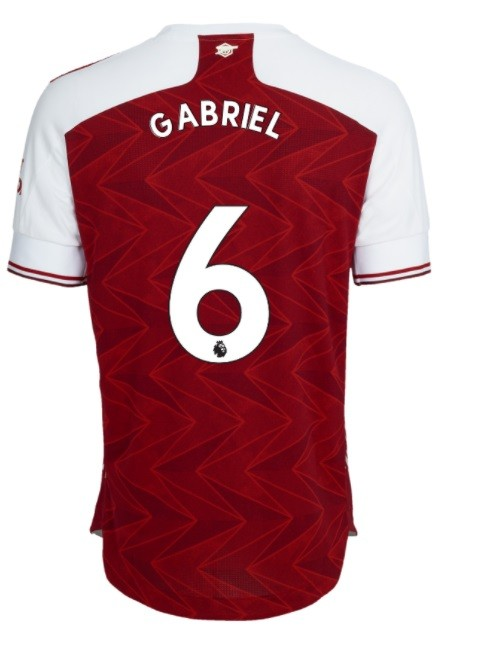 Gabriel's Arsenal shirt number