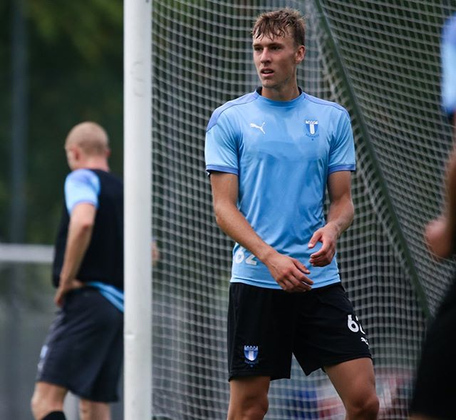 Nikolaj Duus Möller with Malmö (Photo via Möller on Instagram)