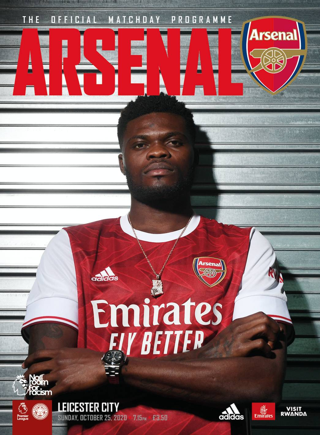 Thomas Partey via Arsenal.com