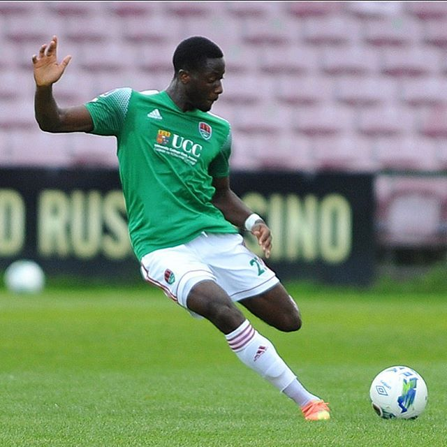 Joseph Olowu with Cork City (Photo via Olowu on Instagram)