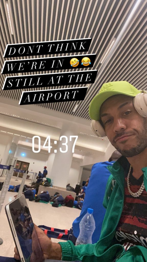 Aubameyang on Instagram