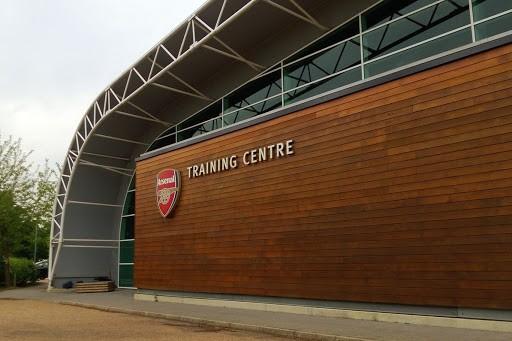 London Colney training centre (Photo via FootballTrainingGrounds.com)
