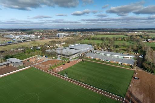 London Colney training pitches (Photo via FootballTrainingGrounds.com)