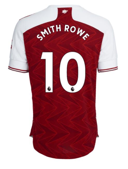 Emile Smith Rowe mocked up shirt