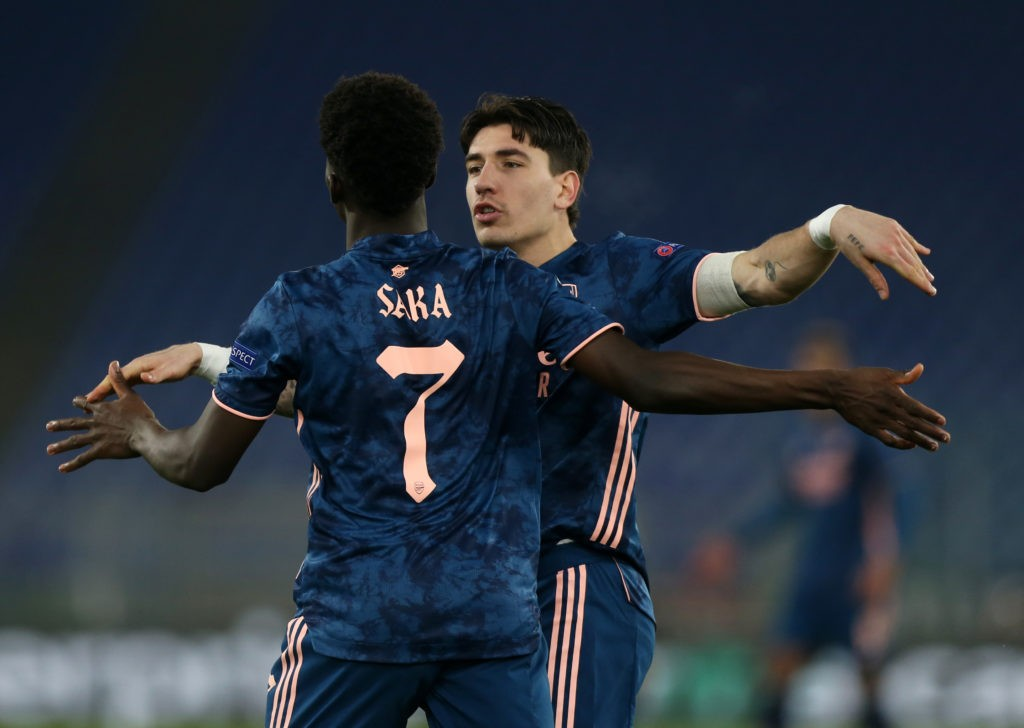 sl benfica v arsenal fc uefa europa league round of 32 leg one 2