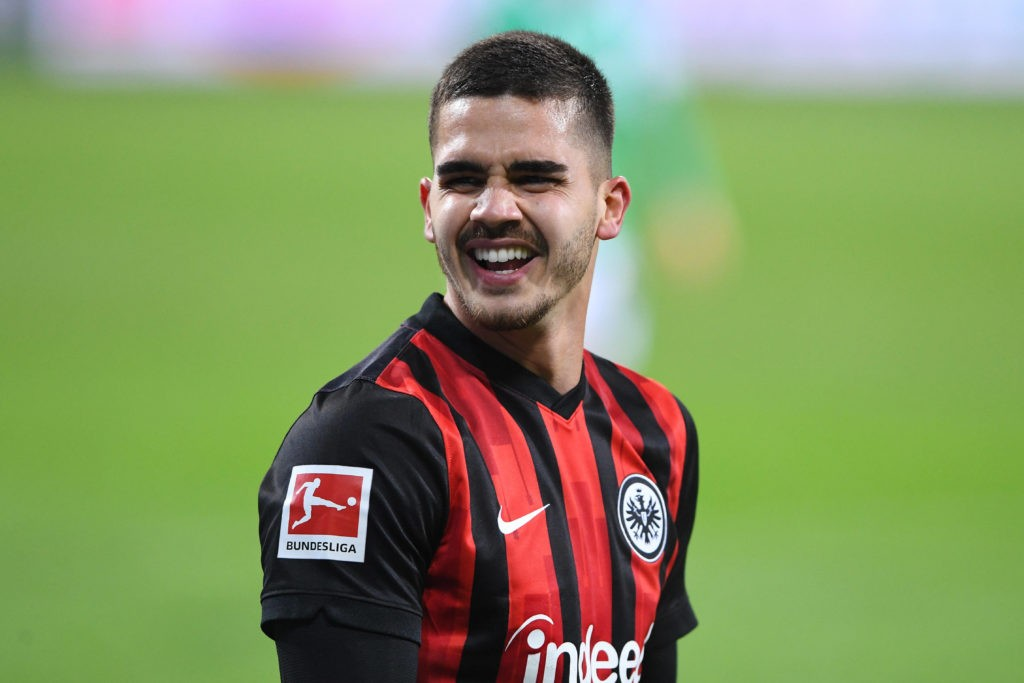 16.02.2021, Andre Silva of Frankfurt (Photo via Imago)