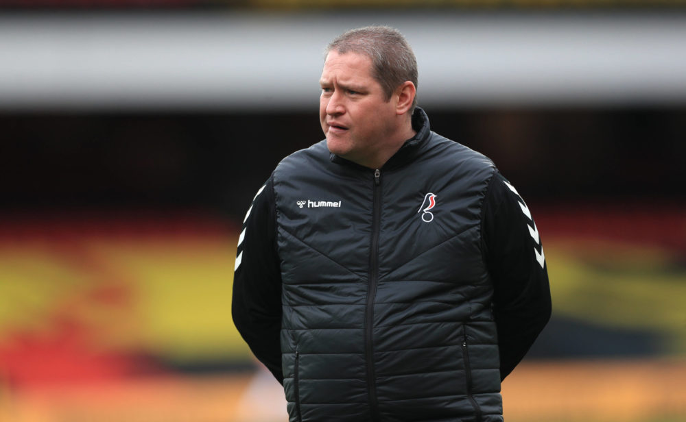 Bristol City v Chelsea - FA Women s Continental Tyres League Cup - Final - Vicarage Road Bristol City manager Matt Beard before the FA Women s Continental Tyres League Cup final match at Vicarage Road, London. Picture date: Sunday March 14, 2021. Copyright: Mike Egerton