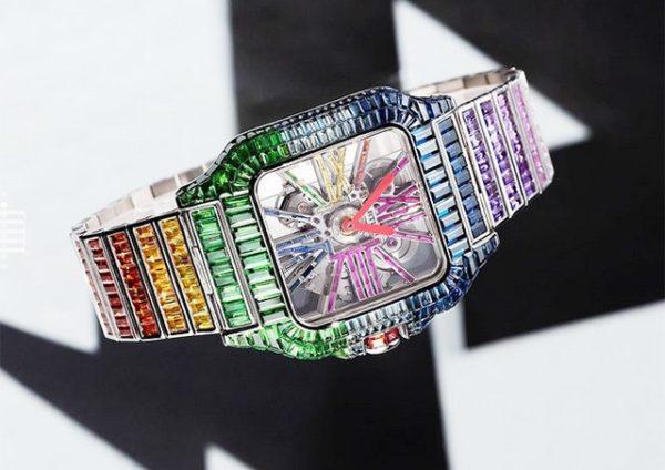 Aubameyang's watch © Instagram / mjjexclusive