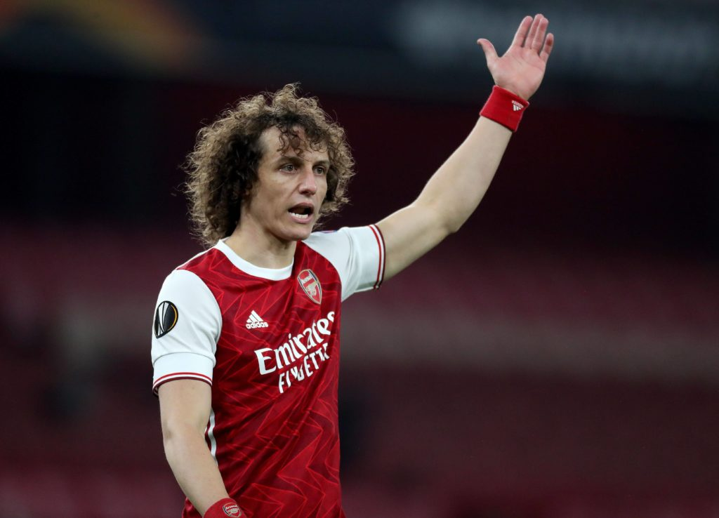 David Luiz of Arsenal - Arsenal v Olympiakos, Europa League Round of 16, Emirates Stadium - 18/03/2021. Copyright: Matt Impey / Shutterstock