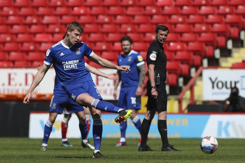 Charlton Athletic v Ipswich Town, Sky Bet League 1, Mark McGuinness of Ipswich Town during the Sky Bet League 1 match at The Valley, London. Copyright: Ben Peters