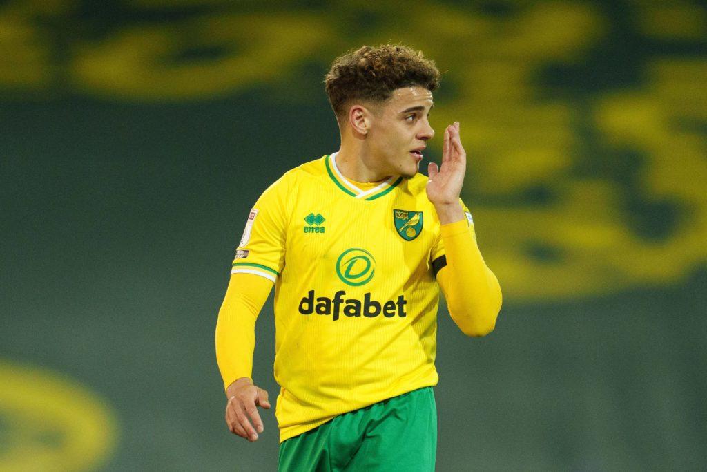 Max Aarons of Norwich City v AFC Bournemouth, EFL Sky Bet Championship, Football, Carrow Road, Norwich, UK - 17 Apr 2021. Copyright: Joe Toth / BPI / Shutterstock