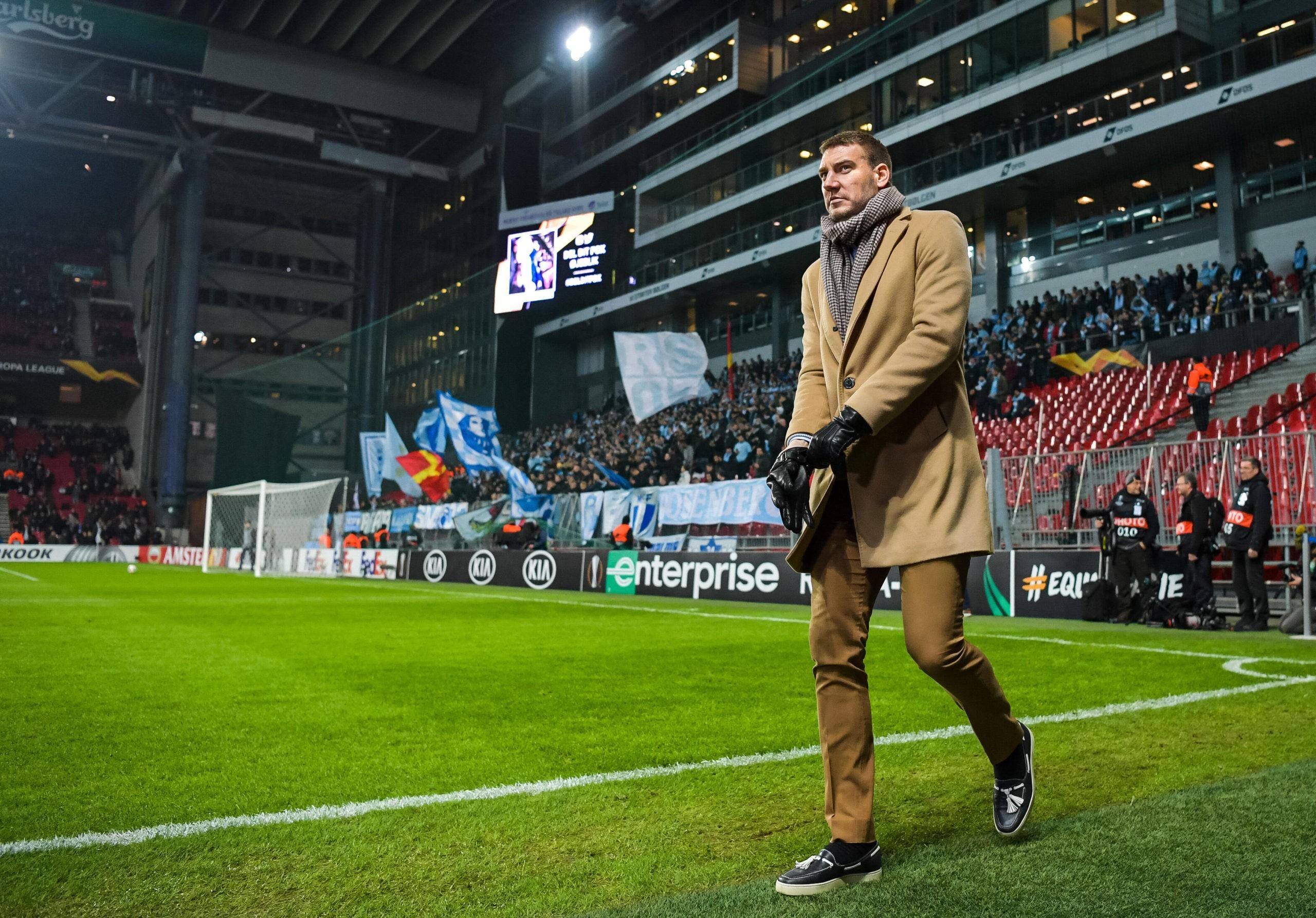 Nicklas Bendtner of FC Köpenhamn ahead of the Europa League match between FC Köpenhamn and Malmö FF on December 12, 2019 in Copenhagen. Photo: Petter Arvidson / BILDBYRAN / kod PA /