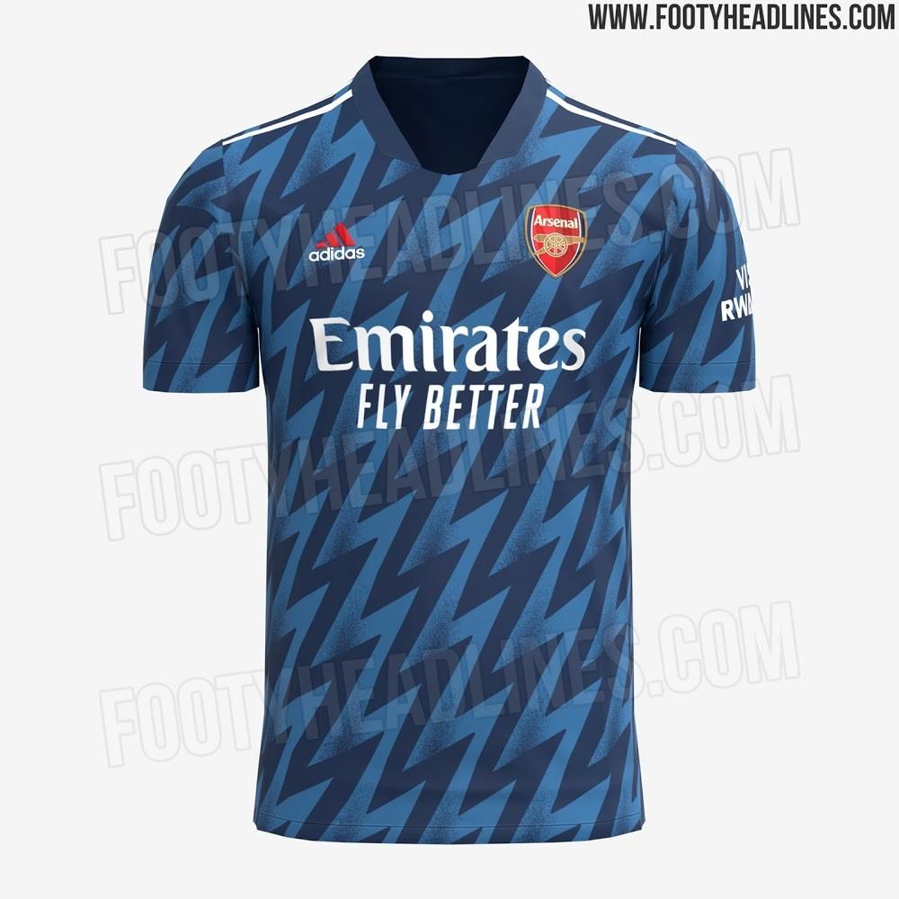 All Arsenal kits 2021/22