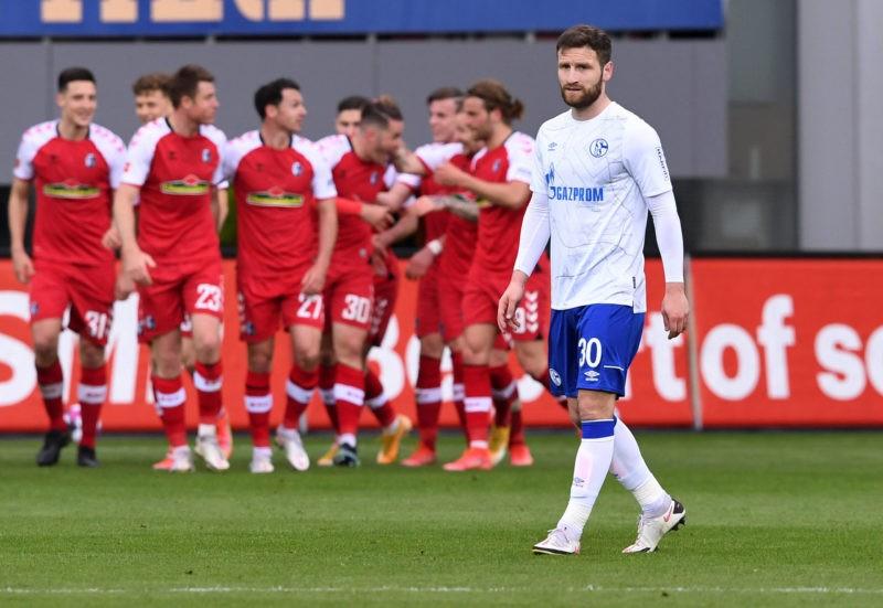Disappointment FC Schalke 04 Shkodran Mustafi