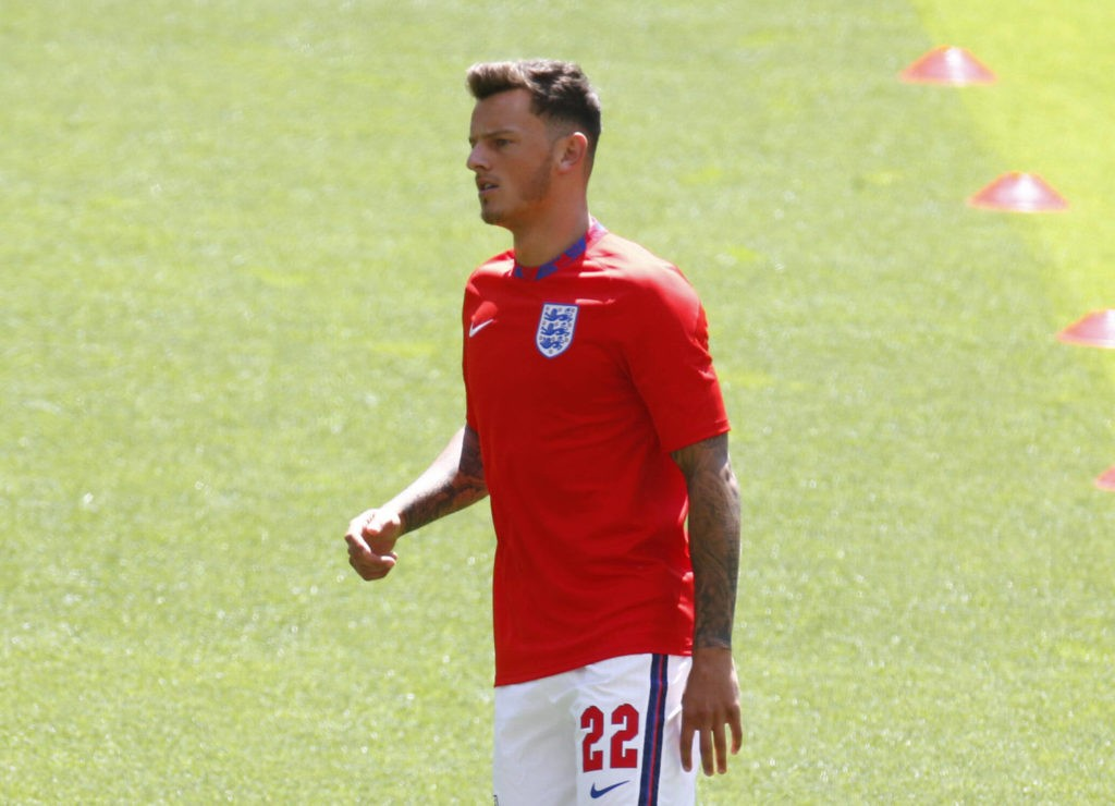 England v Croatia - European Championship: Ben White of Brighton and England during the pre-match warm-up during European Championship Group D between England and Croatia at Wembley Stadium, London on 13th June, 2021. Copyright: Action Foto Sport