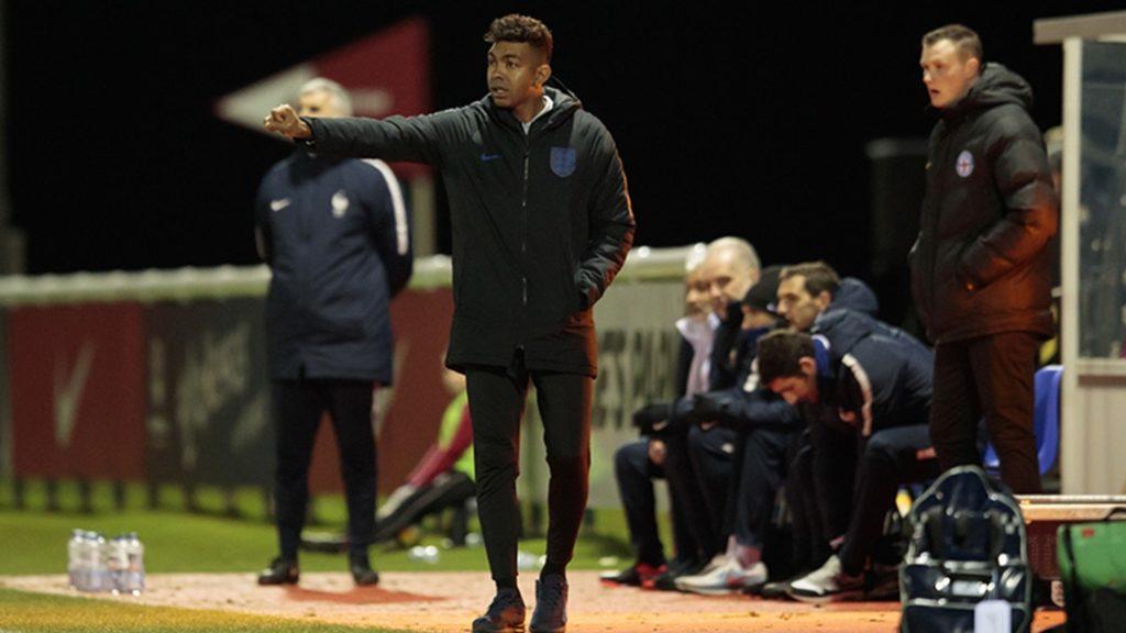 Kevin Betsy with England (Photo via TheFA.com)