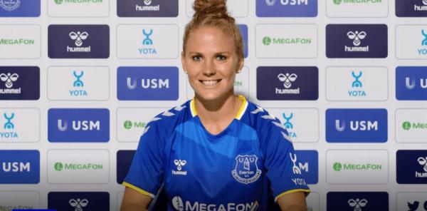 Leonie Maier signs for Everton (via Everton)