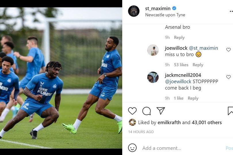 Joe Willock on Instagram