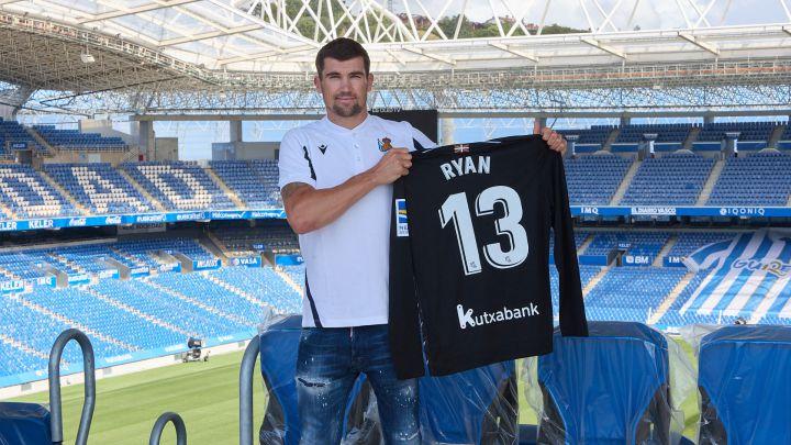 Mat Ryan via Real Sociedad