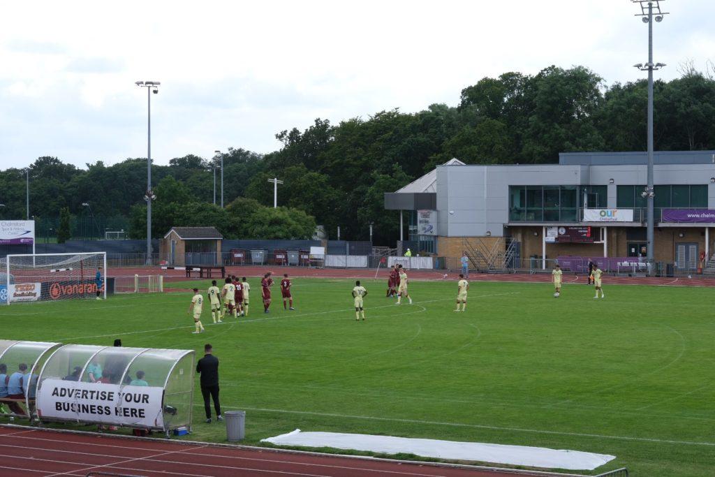 Arsenal u18s take on Chelmsford City academy (Photo taken by Dan Critchlow)