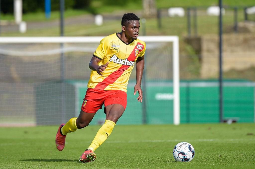 Cheick Oumar Doucoure of Lens - Lens vs Standard - Match Amical - Billy Montigny - 07/07/2021. Photo: Federico Pestellini / Panoramic