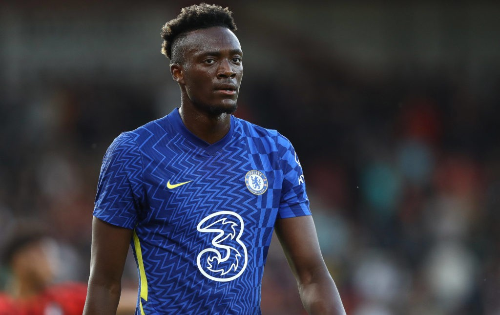 Bournemouth, England, 27th July 2021. Tammy Abraham of Chelsea during the Pre Season Friendly match at the Vitality Stadium, Bournemouth. Picture credit : Paul Terry / Sportimage