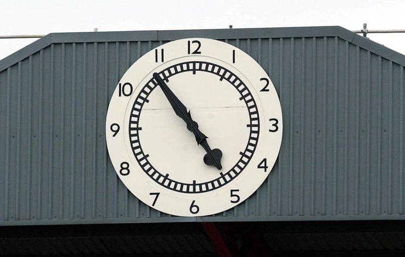 Arsenal clock