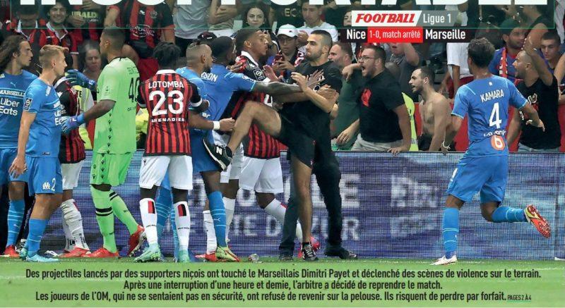 LEquipe Marseille Nice Payet