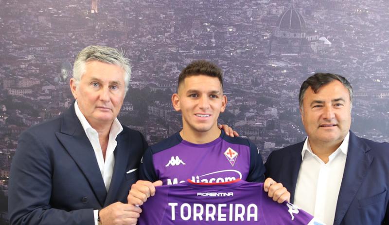 Lucas Torreira, via Fiorentina