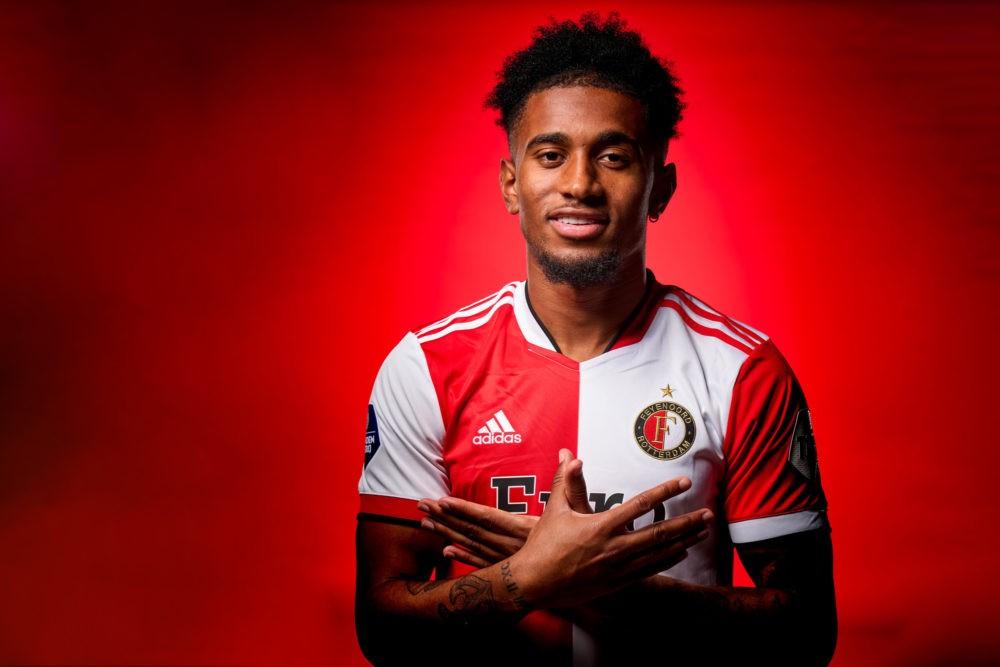 Reiss Nelson with Feyenoord (Photo via Feyenoord.nl)