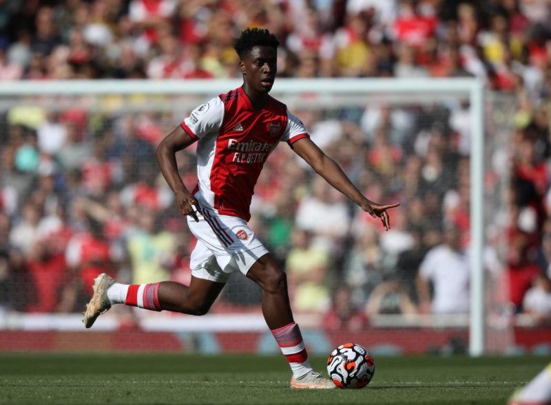Albert Sambi Lokonga A at the EPL match Arsenal v Norwich City, at the Emirates Stadium, London, UK on 11th September, 2021.