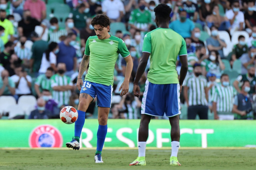 Real Betis v Celtic FC: Group G - UEFA Europa League - Hector Bellerin of Real Betis during the UEFA Europa League Group G stage match between Real Betis and Celtic FC at Benito Villamarin Stadium on September 16, 2021, in Seville, Spain. Copyright: DAX Images
