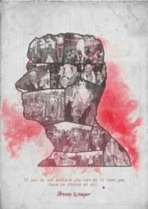 Arsene Wenger Believe print