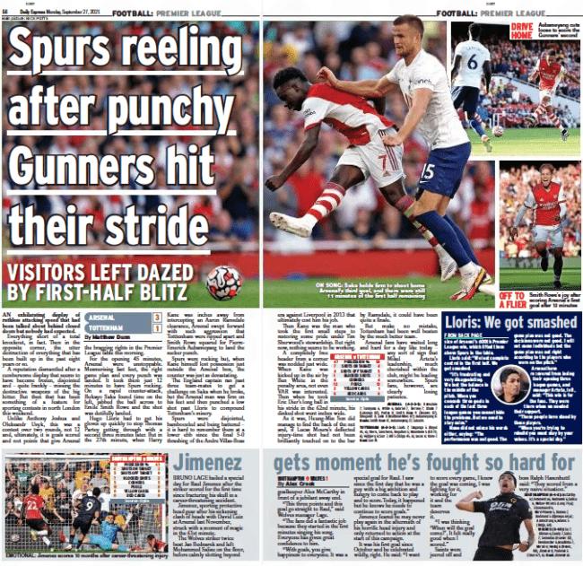 Daily Express, 27 September 2021