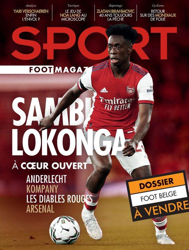 Albert Sambi Lokonga, Sport/Foot magazine
