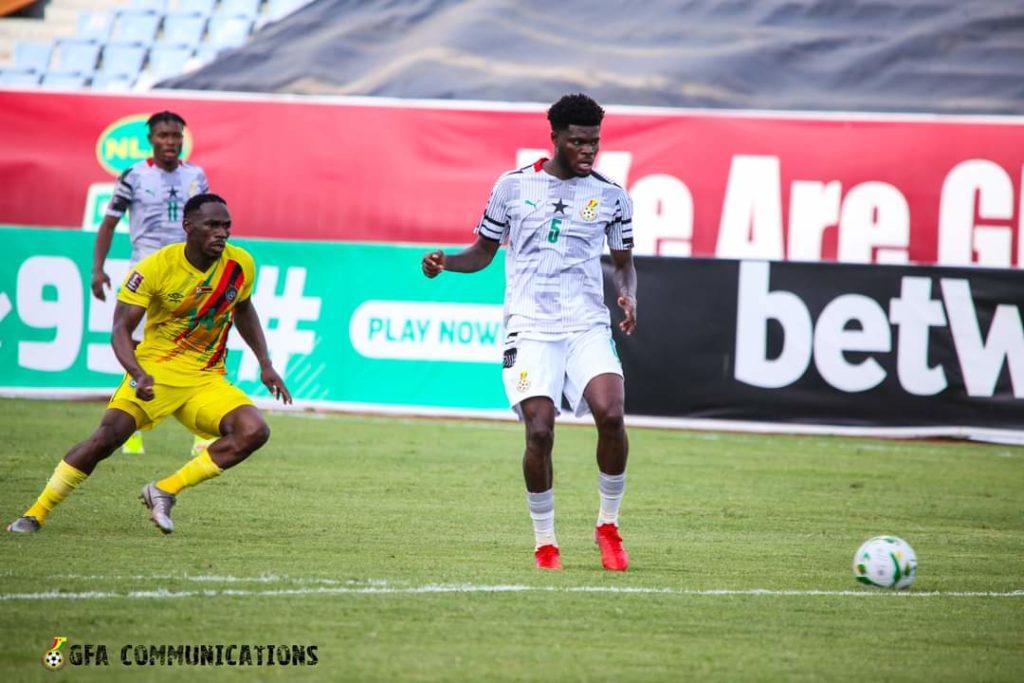 Thomas Partey with Ghana (Photo via GFA Communications)